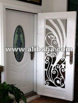 hierro forjado puerta de entrada principal puertas