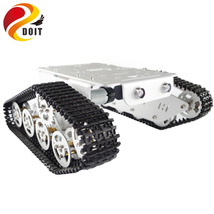 Official DOIT T300 Metal Crawler Robot Chassis Tracked Intelligent Robot Obstacle Accessory Part DIY RC Toy