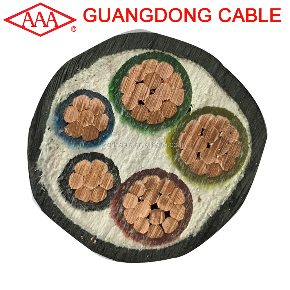 VV 3+2 under ground cable price per meter types of cable insulation multi cable copper foshan electrical products manufacturers