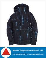 Custom 3 in 1 Waterproof Kids Rain coat outer and flccec Jacket inner for Boys,children winter jacket