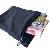 Double Side Lycra Running Phone Arm Band Bag Wrist Wallet