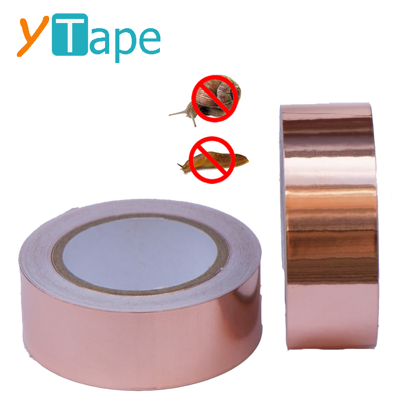 Multibuy Snail Protection Copper Slug Tape Stops Slugs and Snails In Their Tracks 4m Roll