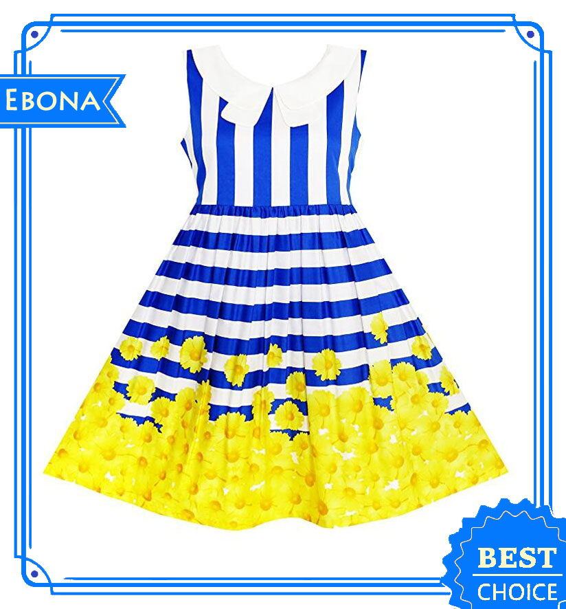 Girls Long Party Dress Frock Design For 6-12 Years Old Girls Baby