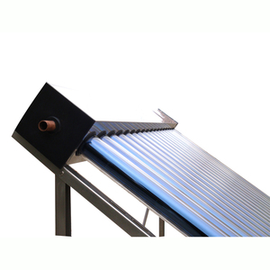 The newest solar keymark blue titanium flat pamel collector Pressure Heat Pipe Solar Thermal Collector