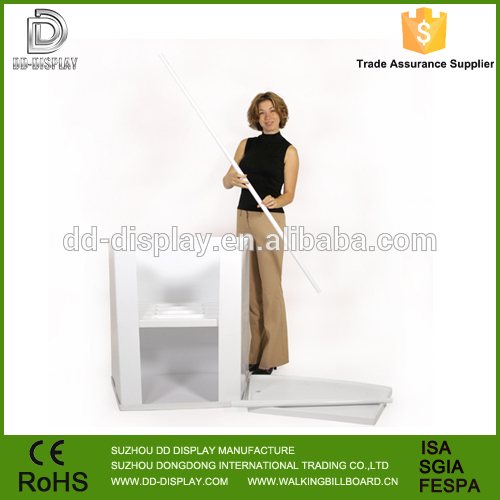 Newly Fashional PVC Materical portable promotion counter