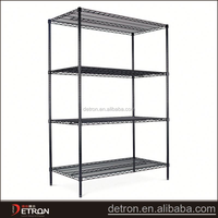 Low price adjustable garage wire shelving