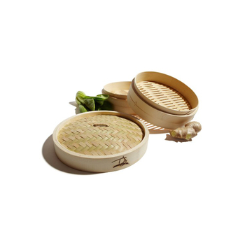 Rice cooker bambu/bamboo steamer basket with lid
