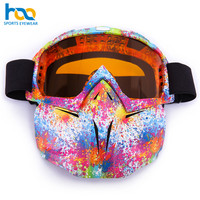 Best Selling TPU Frame Custom Logo Ski Snowboard Goggles with Face Mask