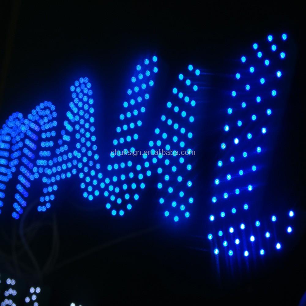 Wall Mount Door Sign Led Exposed Lights Outdoor Super Big Pharmacy ...