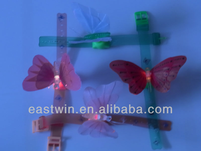 Artificial fiber optic flower
