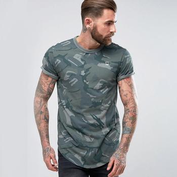 5fe5ada55dd0 Fashion style camo printing jersey t shirt custom digital printing t shirts