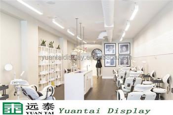 Beauty Salon Decoration Wood Hair Salon Products Furniture Buy