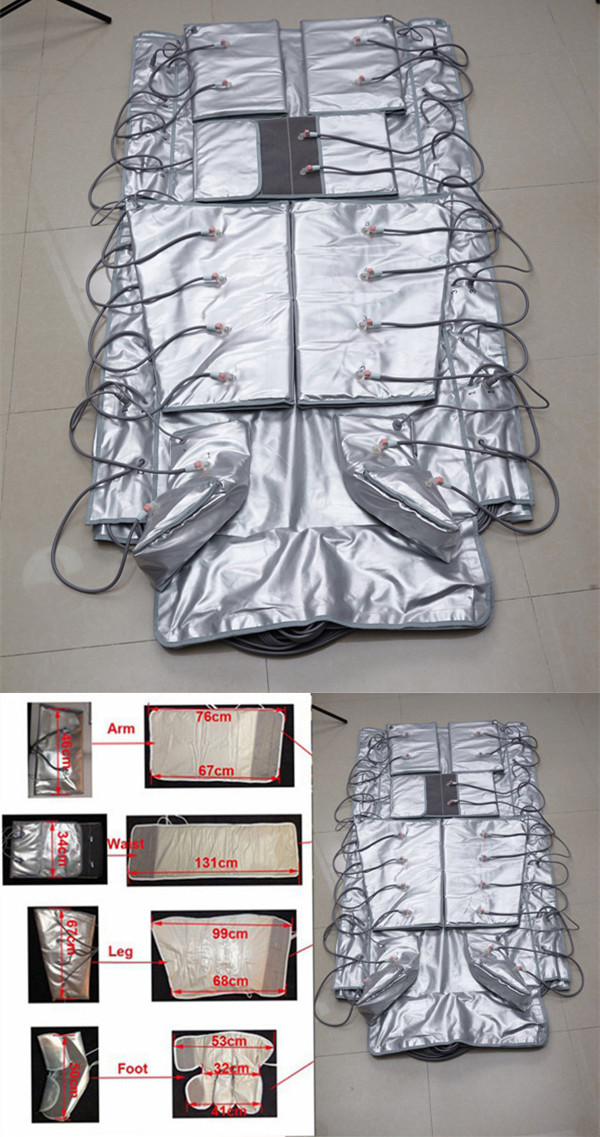 Cherrybeauty CR-F79 Good quality body slimming Infrared Lymphatic Drainage Pressiotherapy machine