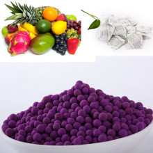 High Efficient Activated alumina ball Potassium Permanganate for fruit Ethylene Gas Absorber