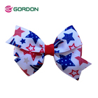 fashion bow hairpin/celebrate it ribbon/hair accessories for girls