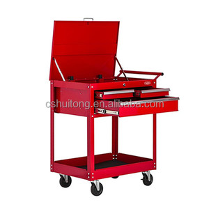 Metal Chest High Quality 3 drawers with ball-bearing slid Tool Cart And Roll Trolley