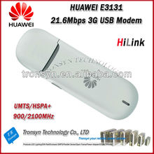 New Original HSPA+ 21.6Mbps Unlock E3131 3G USB Adsl Modem And 3G USB Dongle,3G Data Card
