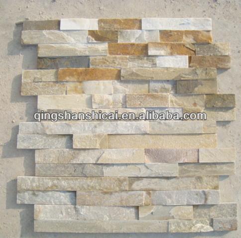 Natual Beige Slate Self Adhesive Wall Tiles Tile Construction Stone Building Product On Alibaba