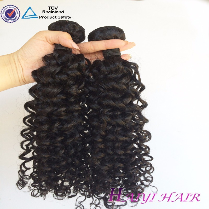 No Shed No Tangle Unproceeesed Large Stock Fast Delivery Brazilian Afro Hairpieces