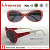 FONHCOO Christmas Cheap Designer Red Dot Frame Kids' Metal Sunglasses Kids Sun Glasses