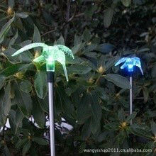 solar stake led christmas lighting