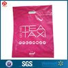 Plastic Pink Bag With OEM Custom Printed Plastic Shopping Bag
