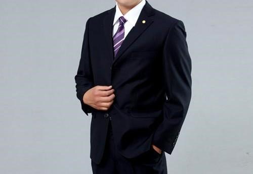 2017 Good Price New Style Black Men Formal Suit - Buy Black Men ...