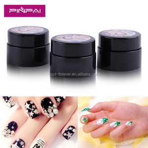 High quality nail art sticky decoration diamond gel