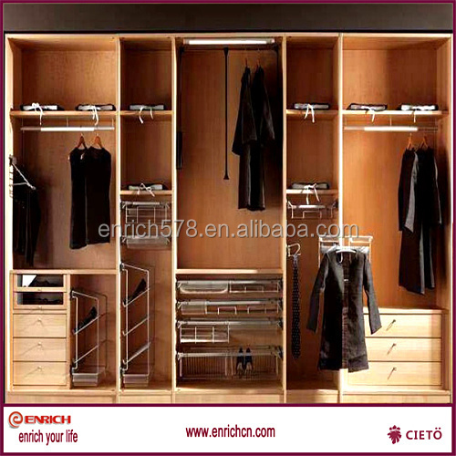 Modular easy build your own mdf walk in closet