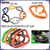 Hot sale motorcycle racing parts CNC Passenger Handgrips Hand Grip Tank Grab Bar Handles Armrest