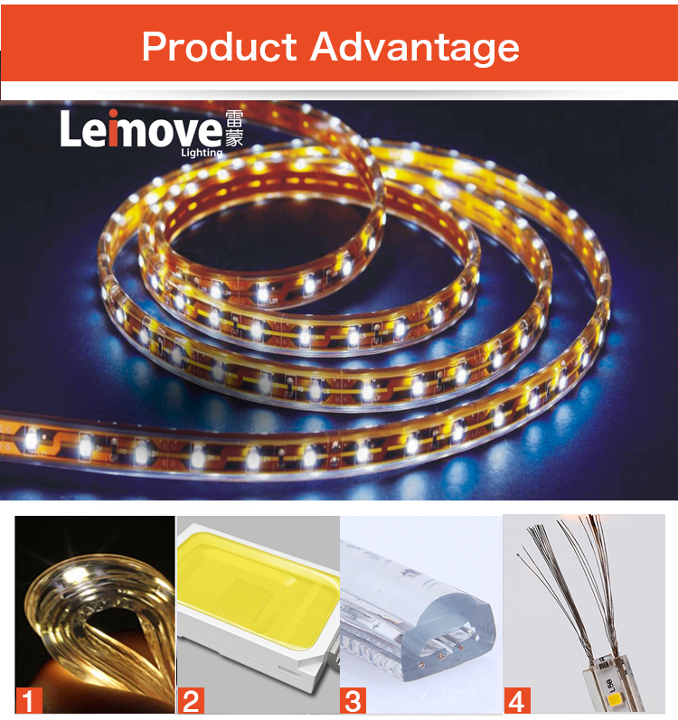 product-Leimove-Wholesale high quality long life rgb smd led strip light for lighting decoration-img-1