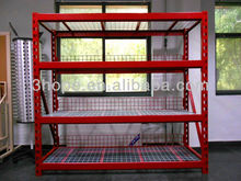 wire decking battery storage rack,battery display rack
