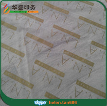 Fashionable custom printed wrapping color tissue paper