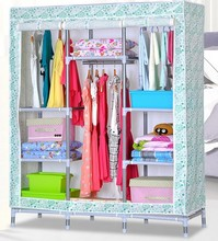 FS girl wardrobes closets organizers portable home furniture bedroom