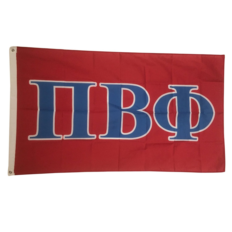 Pi Beta Phi Letter Sorority Flag Greek Letter Use as a Banner Large 3 x 5 Feet Pi Phi
