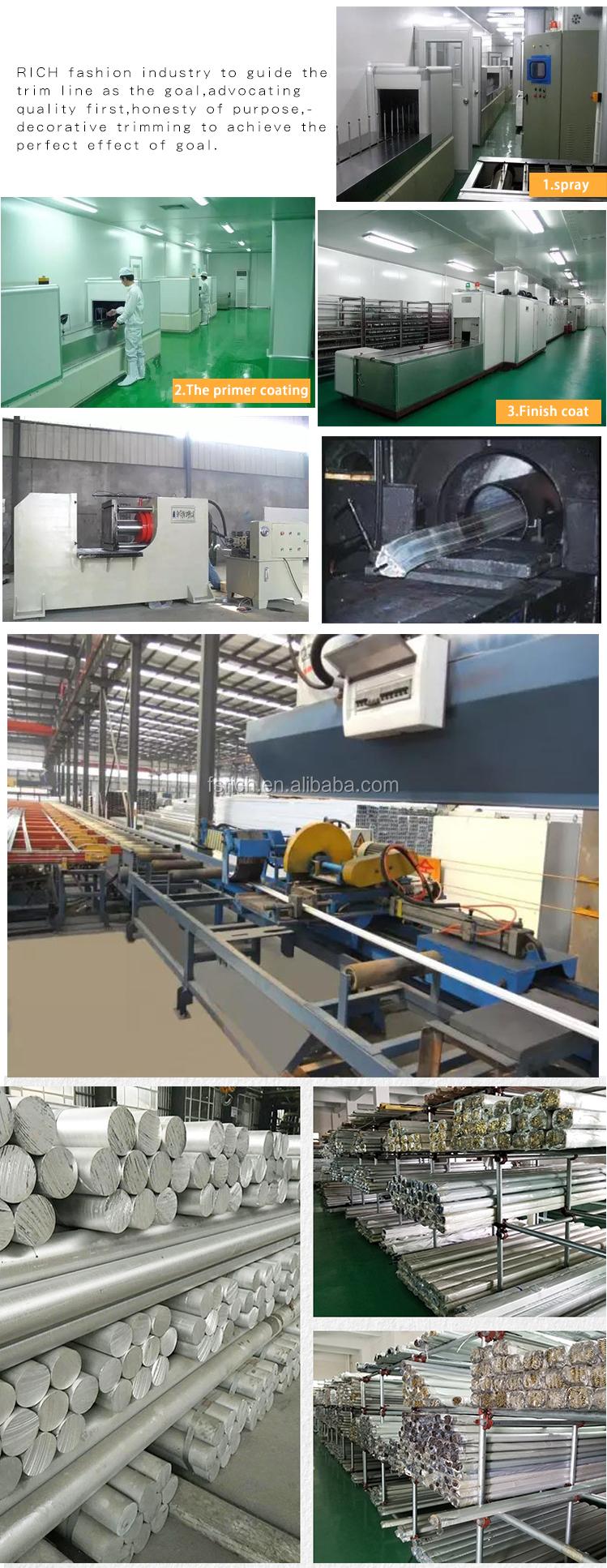 מפעל סיטונאי כל גודל בצבע מתכת אלומיניום תמונה/מסגרות תמונה
