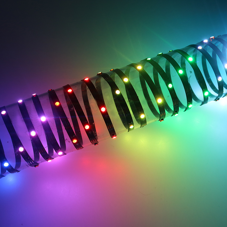 5mm wide 30leds 5v <strong>rgb</strong> 3535 mini dream color led strip sk6812