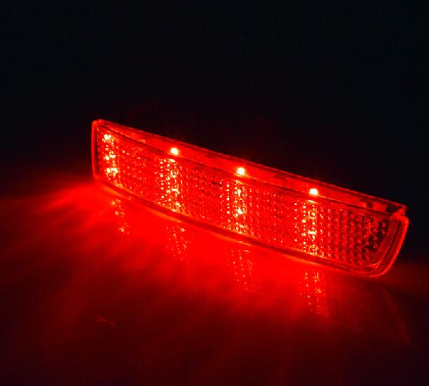Муранского зад задний фонарь противотуманные фары 2 шт. / комплект, Красный / белый цвет, Абс, Хорошая
