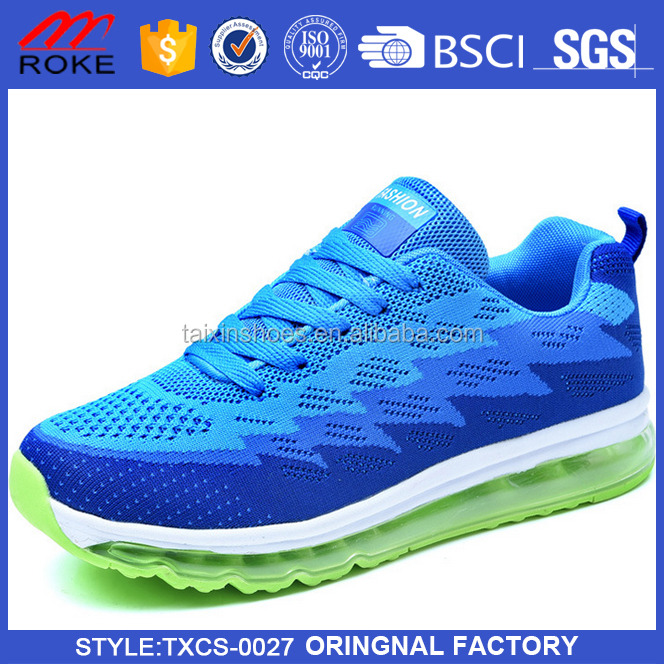 2017 new men brand shoes sports breathable air cushion shoes