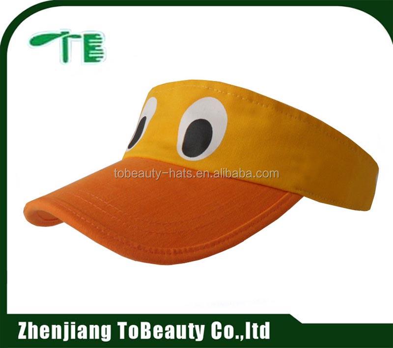 Yellow Funny Visor Hats c4fd9287204