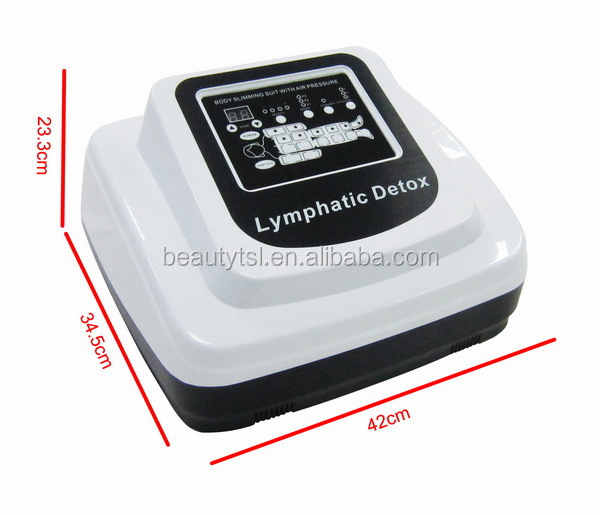 Hot sale ultrasonic welding 36v safty voltage far infrared air pressotherapy lymphatic drainage equipment