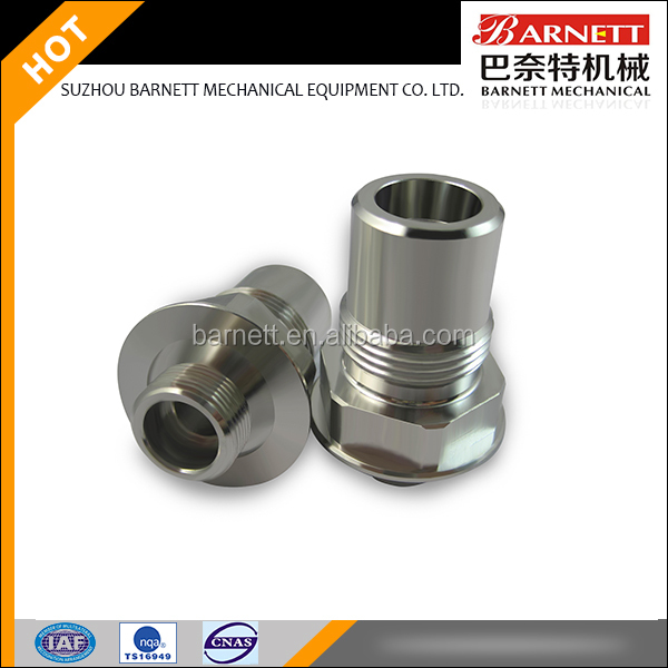 Stainless steel central machinery lathe parts with OEM service means