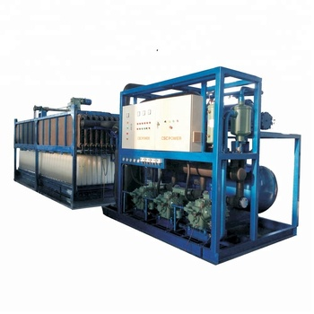 CSCPOWER Reasonable price ice block making machine from 1T to 100T