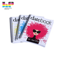 cheap agenda print diary notebook printing service factory