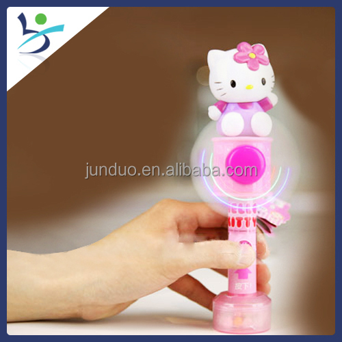 Hello Kitty Candy Dispenser Sweets And Candy Toy Candy Cooling Fan ...