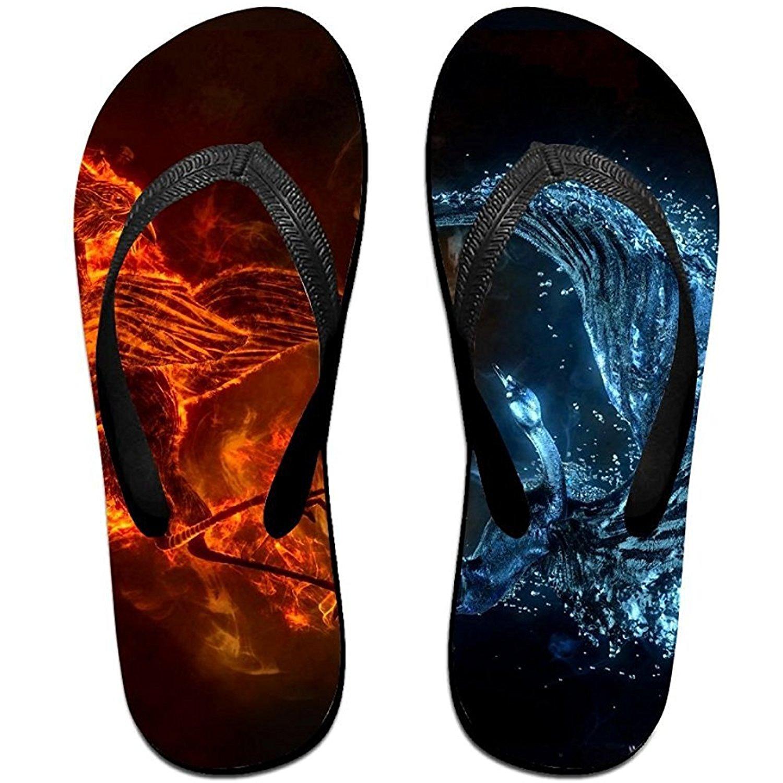 Starmiami Unisex V Flip Flops Animal Artistic Fantasy Magical Personalized Summer Slipper