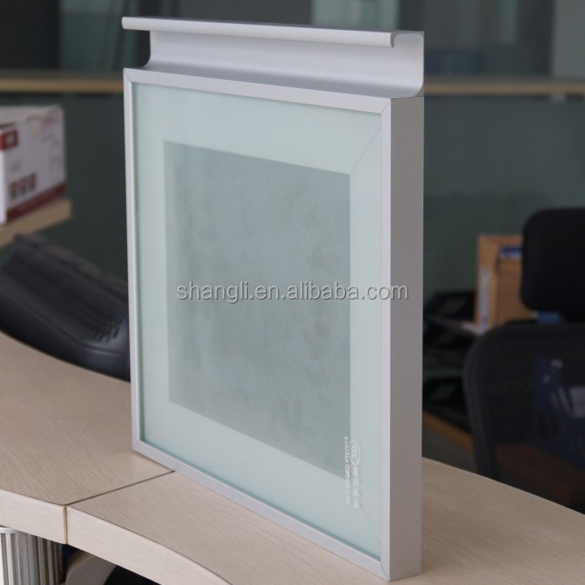 Kitchen Cabinet Glass Door Aluminium Frame Profile Sl6116