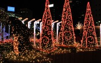 Merry Christmas Rope Light Fancy Christmas Lights 3d Train ...