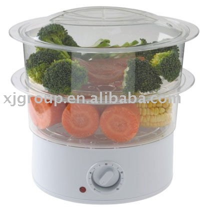 Two layers food steamer steam cooker XJ-10116