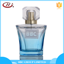 BBC Middle East Series - ME026 Different color active male glass bottles natural light blue perfume